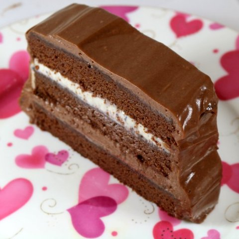 Valentines Chocolate Fantasy Torte for YOU