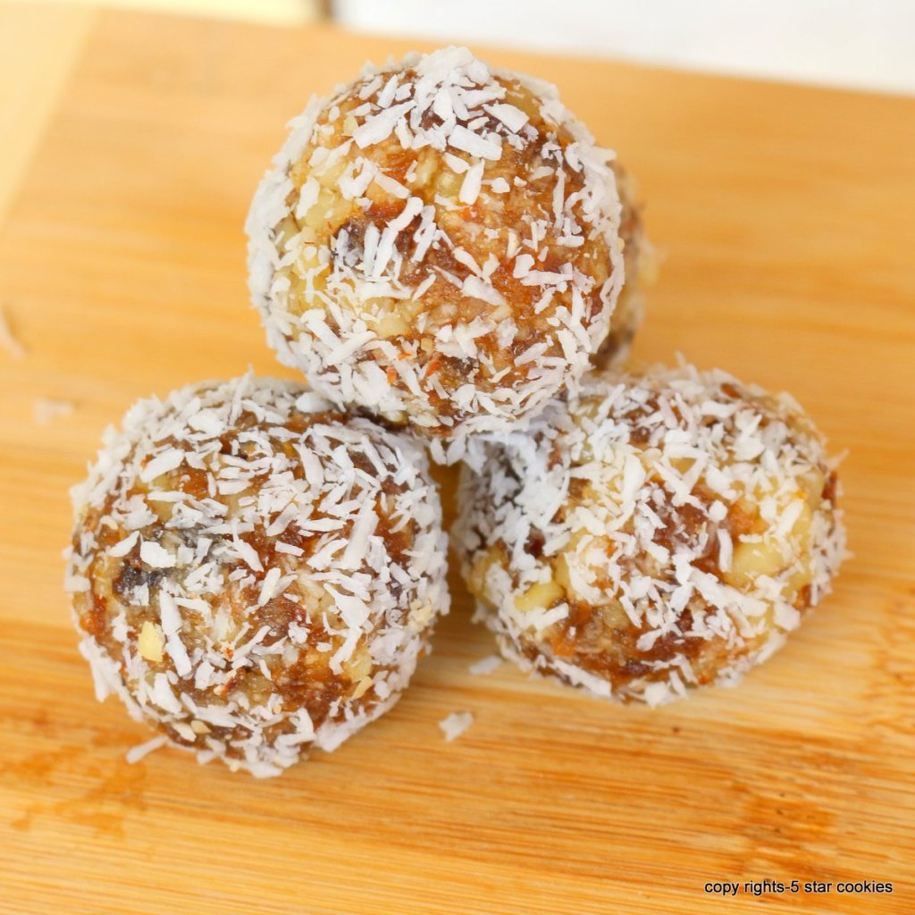 healthy energy apricot balls