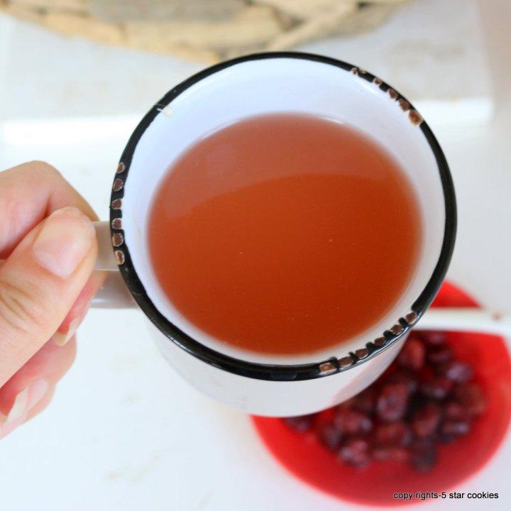 Cranberry Healthy Tea