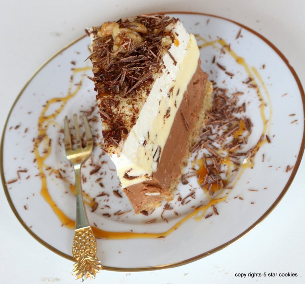 walnut chocolate torte for you