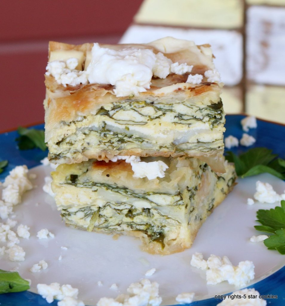 Easy Spinach Cheese pie