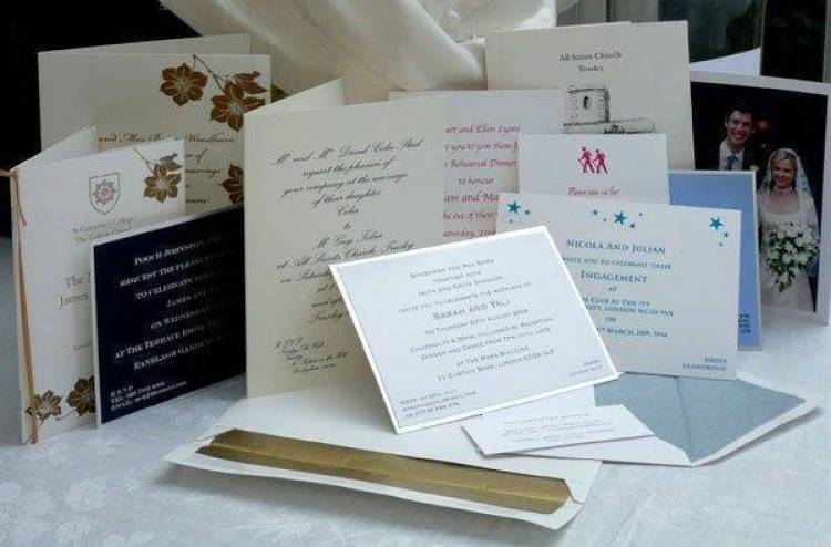 Luxury Wedding Stationery By GG Print