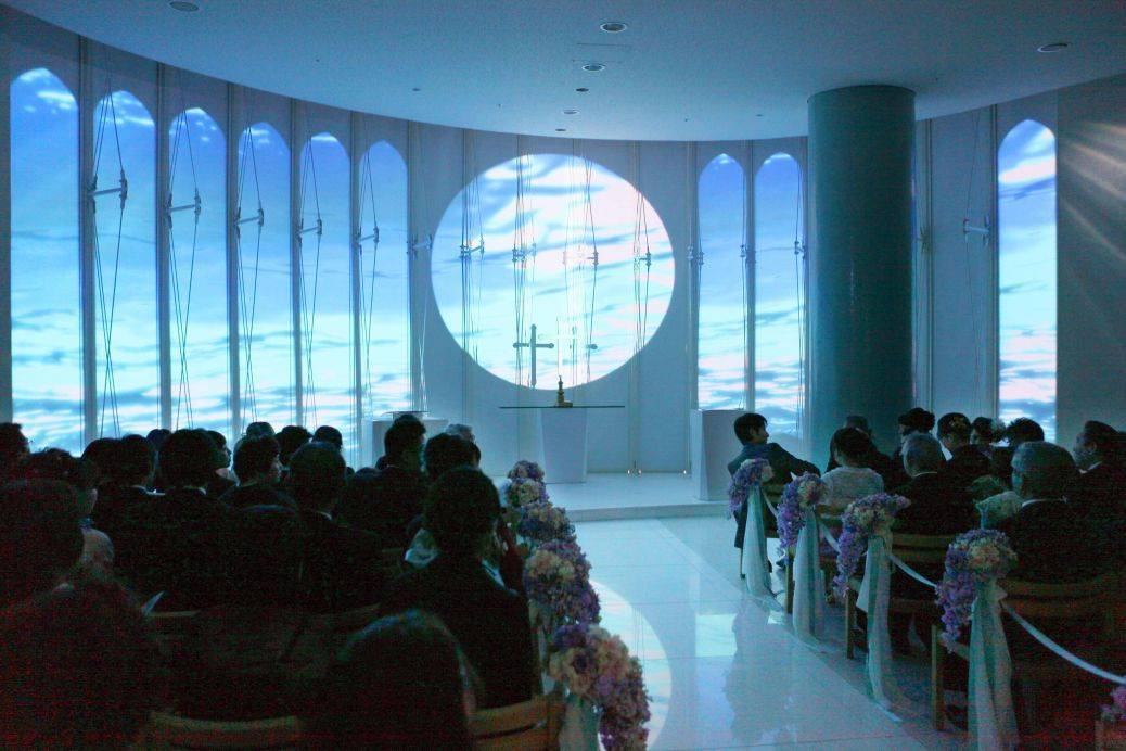 Create the mood you want with a serene projection - add music to match! Photo: The Japan Times