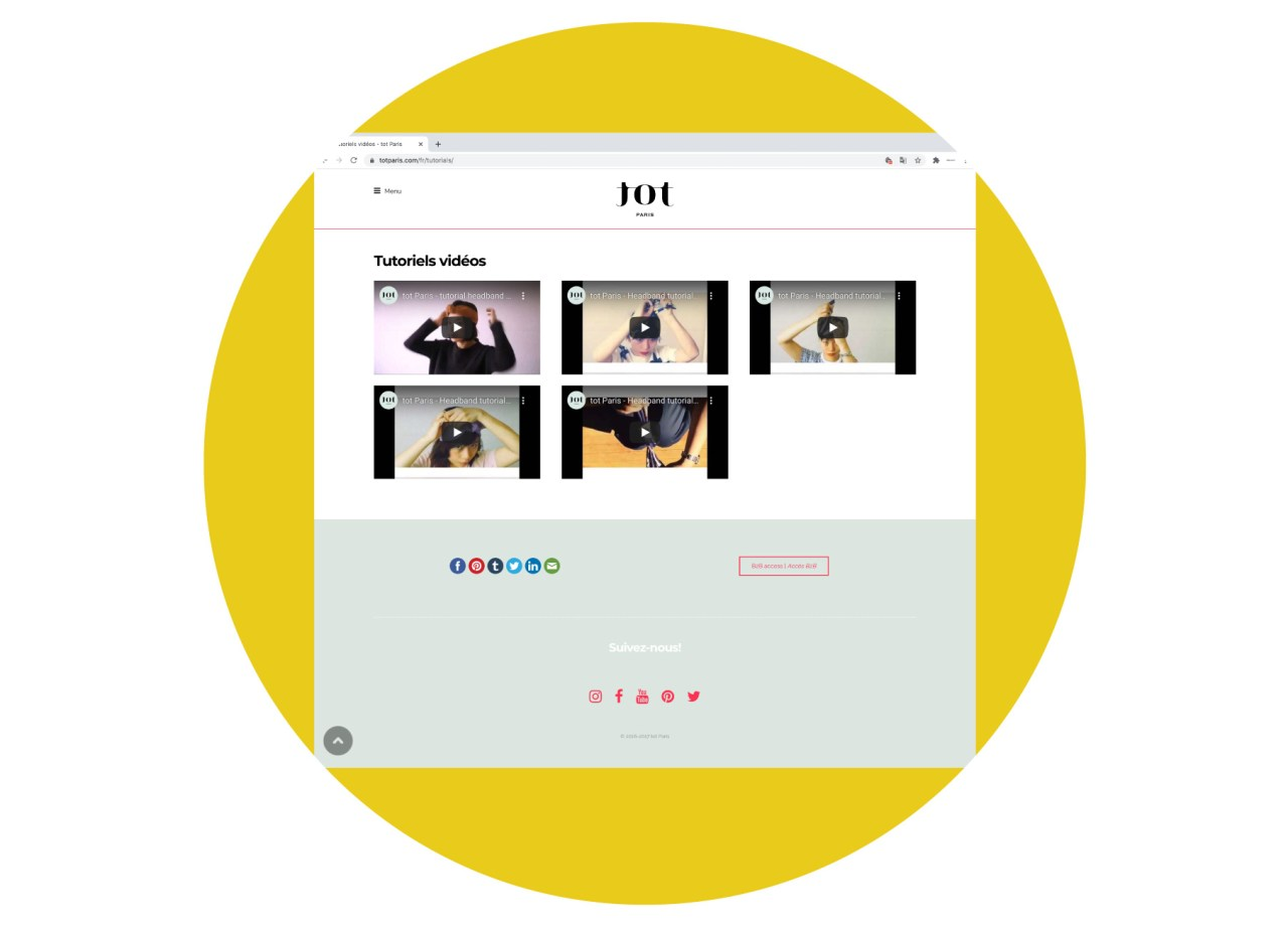 tot Paris — Website