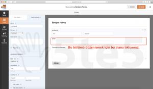wp forms iletişim formu email düzenlemek için tıkla