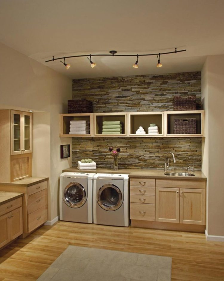 Home remodeling laundry room idea