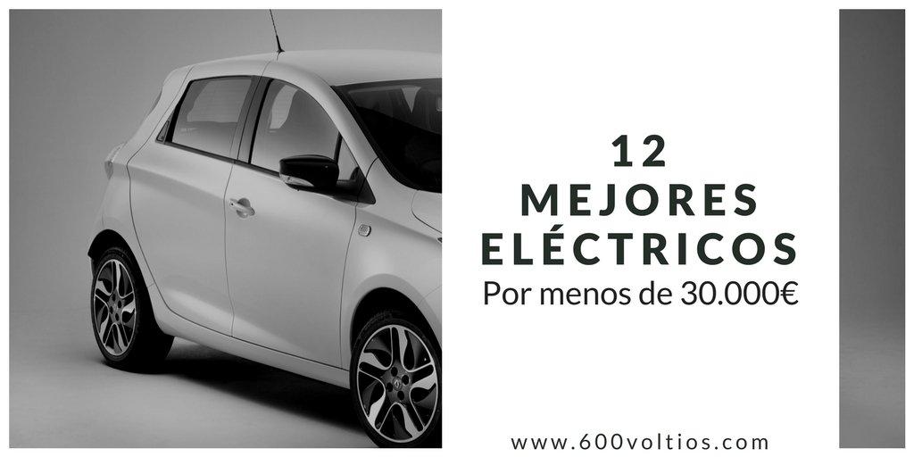 Coches eléctricos por menos de 30.000 euros