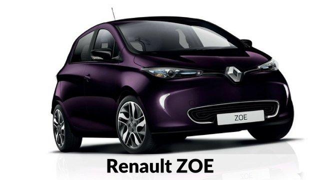 Renault ZOE - coches eléctricos compactos del mercado