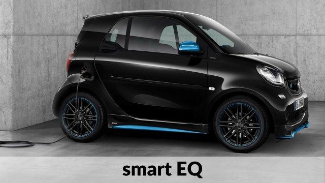 smart EQ - coches eléctricos compactos del mercado
