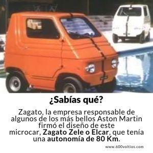 ZAGATO elcar los-coches-electricos-mas-raros-600voltios