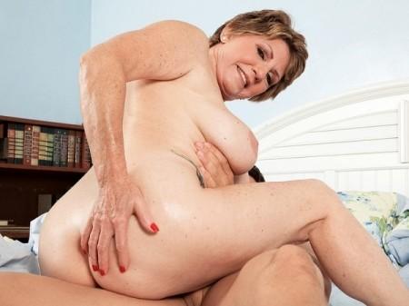 old granny sucks cock