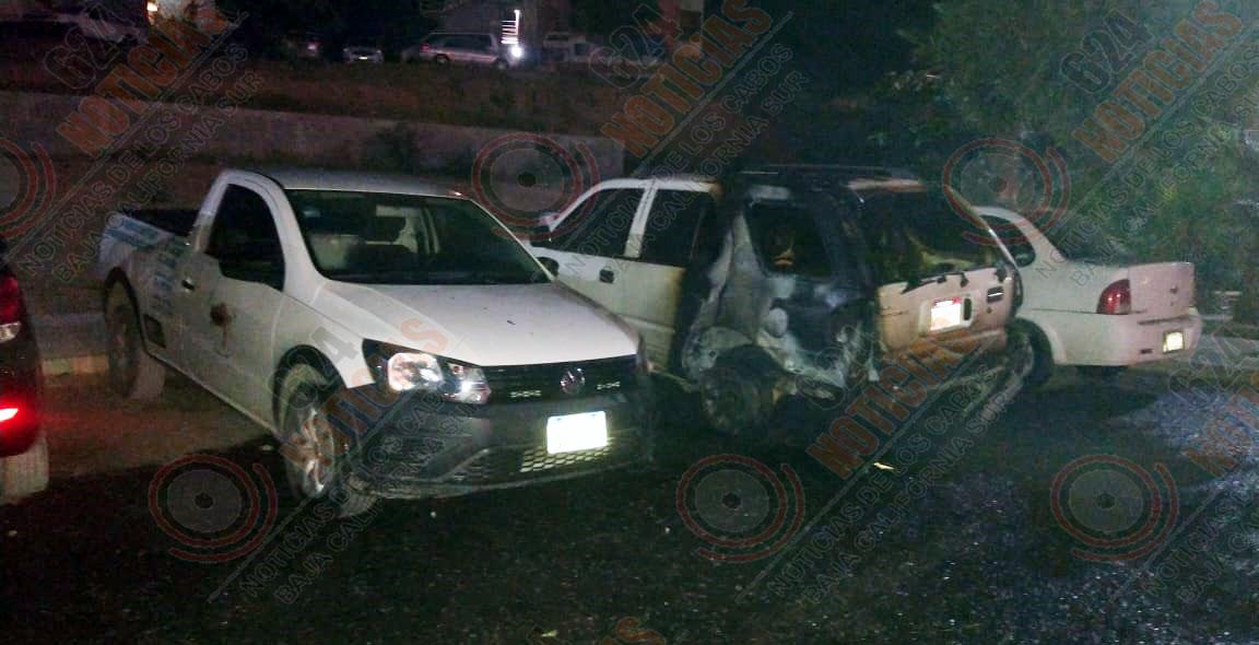 carro quemaod