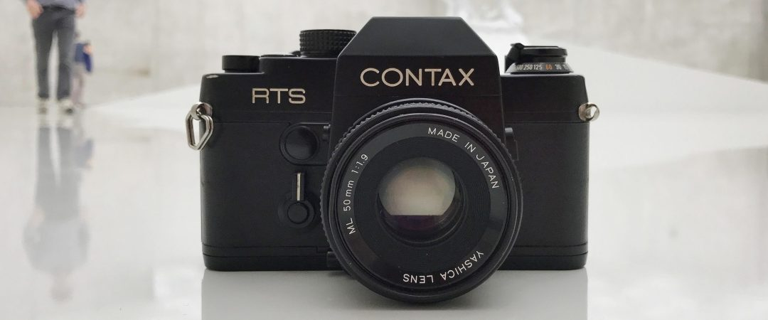 Foto der Contax RTS von vorne