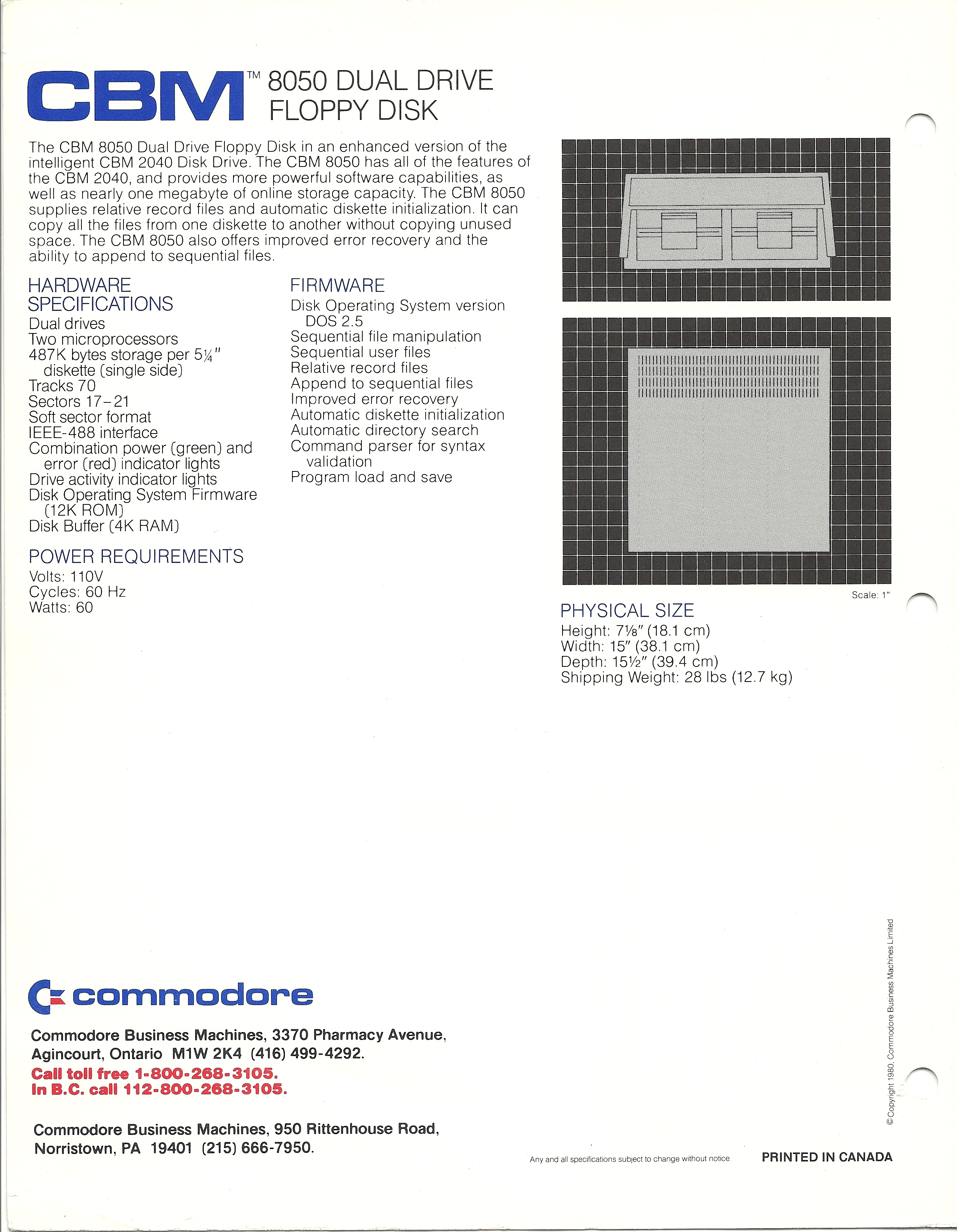 Dual Floppy Drive Front Back