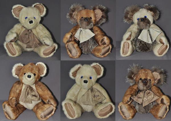 Six Very Large Bears