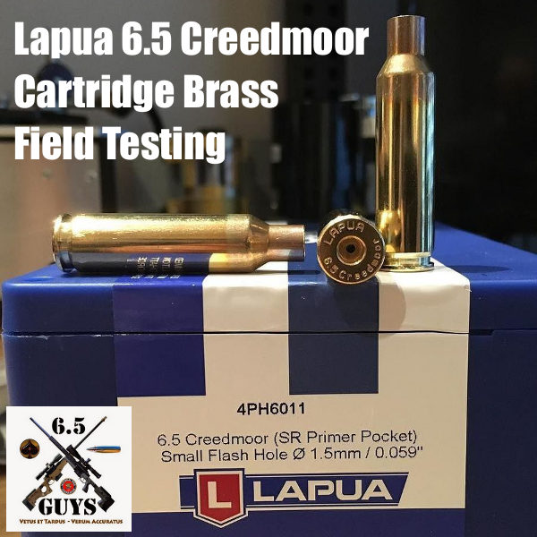 A Look at Lapua 6.5 Creedmoor Brass