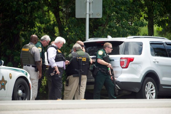 Bay County Sheriff's Office personnel respond to an active ...