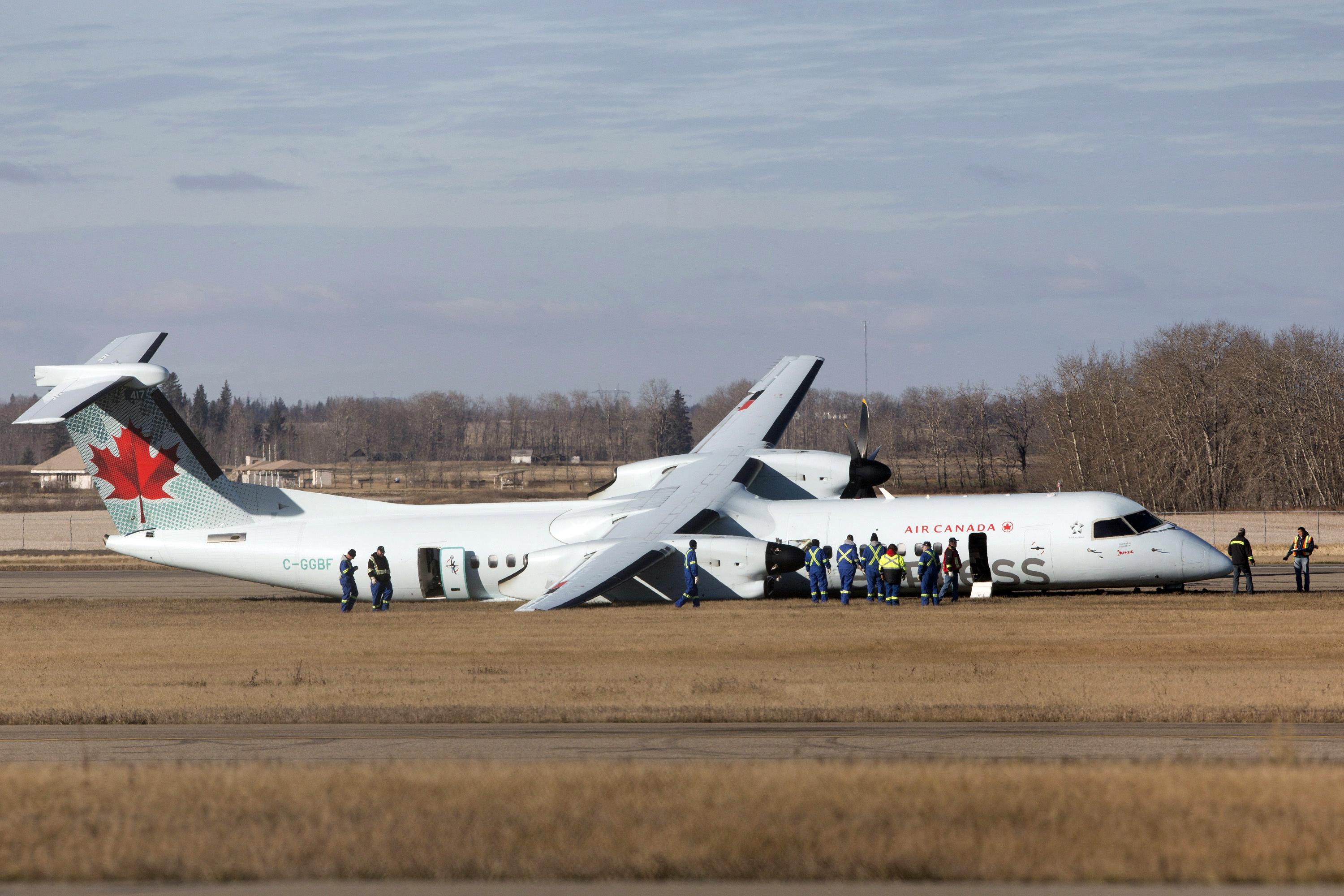 Air Canada Plane Was Airborne Again After Initial Impact
