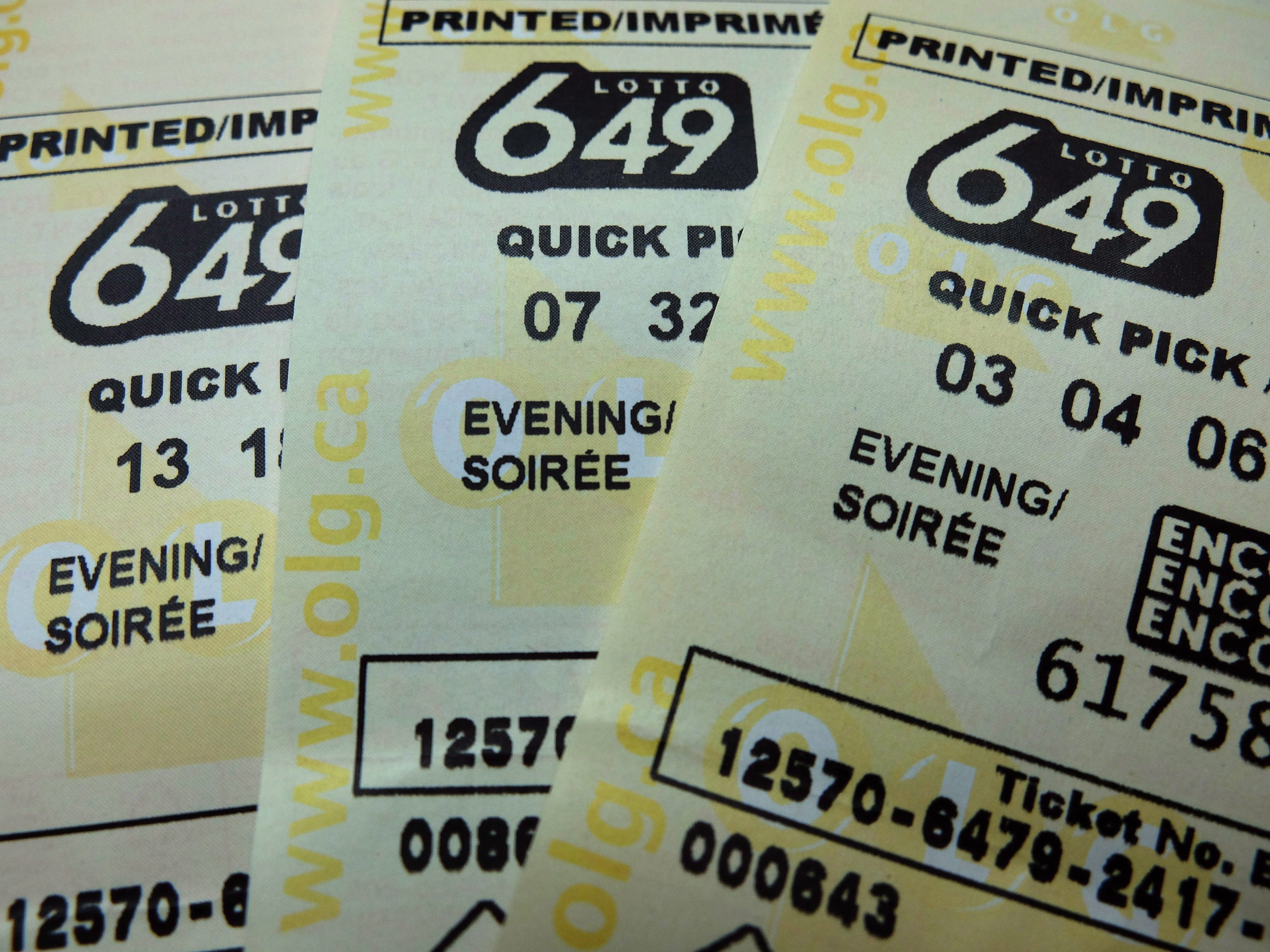 One Winning Ticket For 7m Lotto 6 49 Jackpot