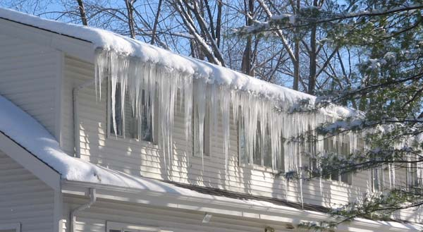 ice dams Ice Dams low slope roof ice dam