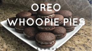 oreo whoopie pies