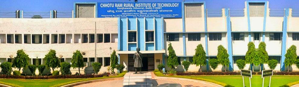 Chhotu Ram Rural Institute of Technology (CRRIT)