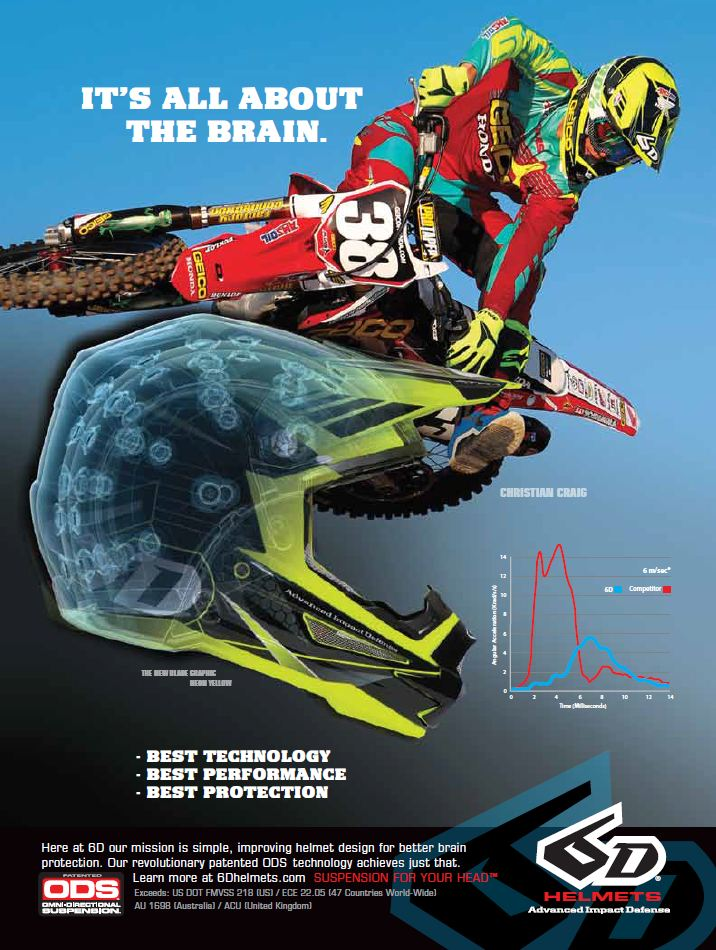 6D Brain Craig Ad TWMX May Issue