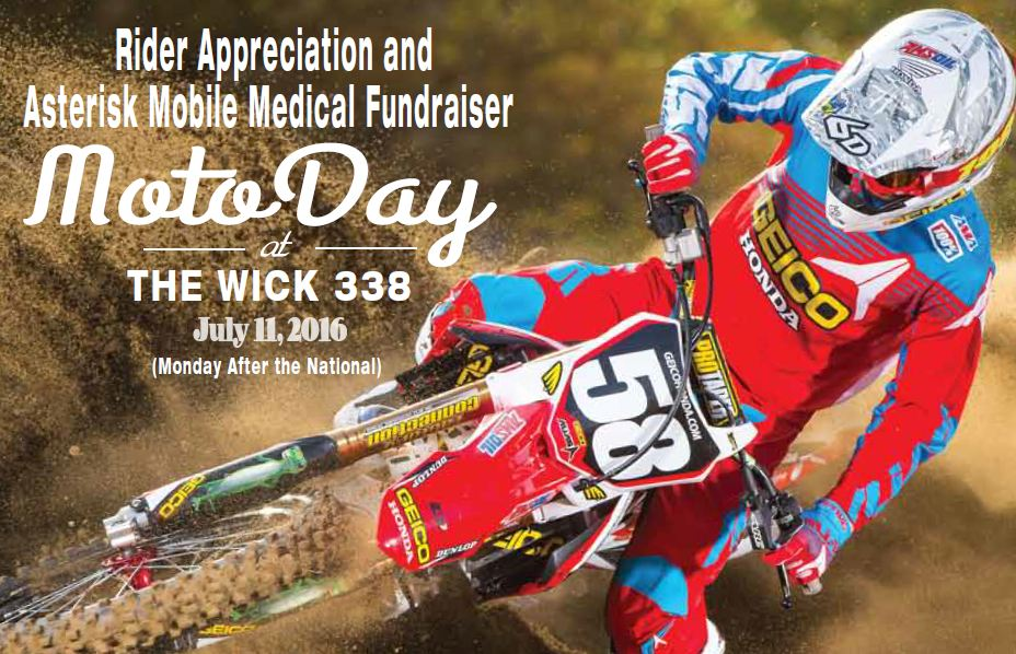6D Southwick Ride Day 2016 Front Image