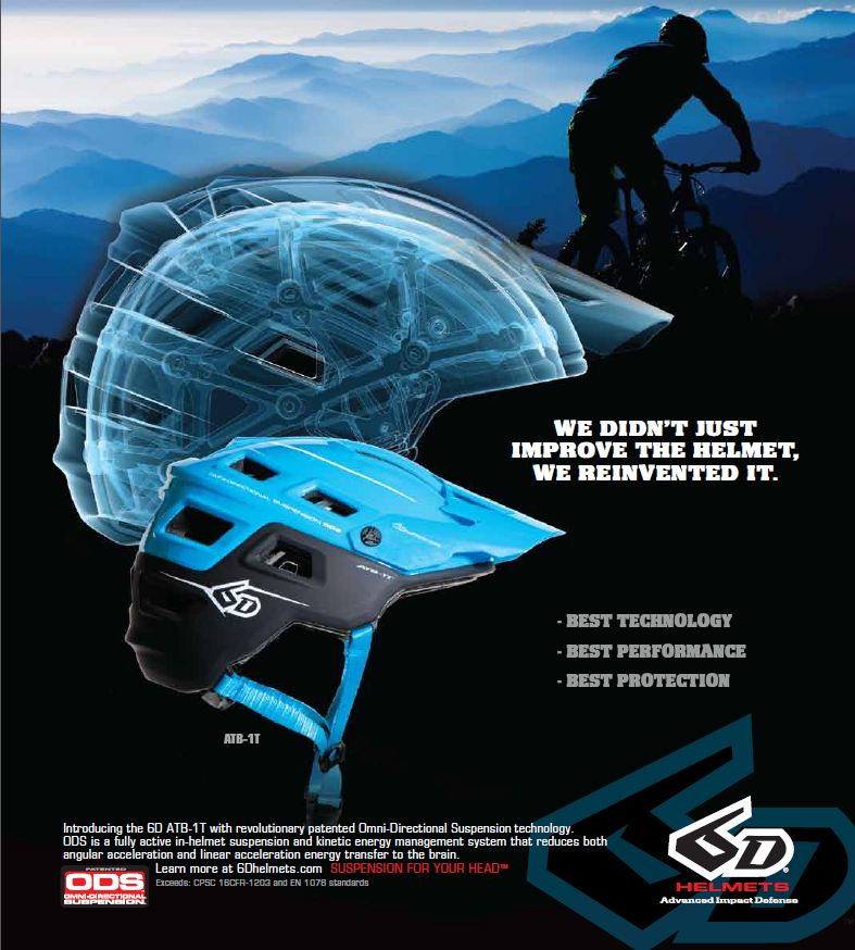 6D Trail Reinvent Ad Decline May issue Sea Otter