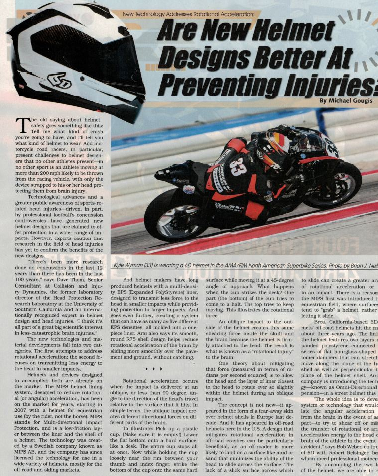 Street Marketing RoadRacing World June 2016 Pg 2