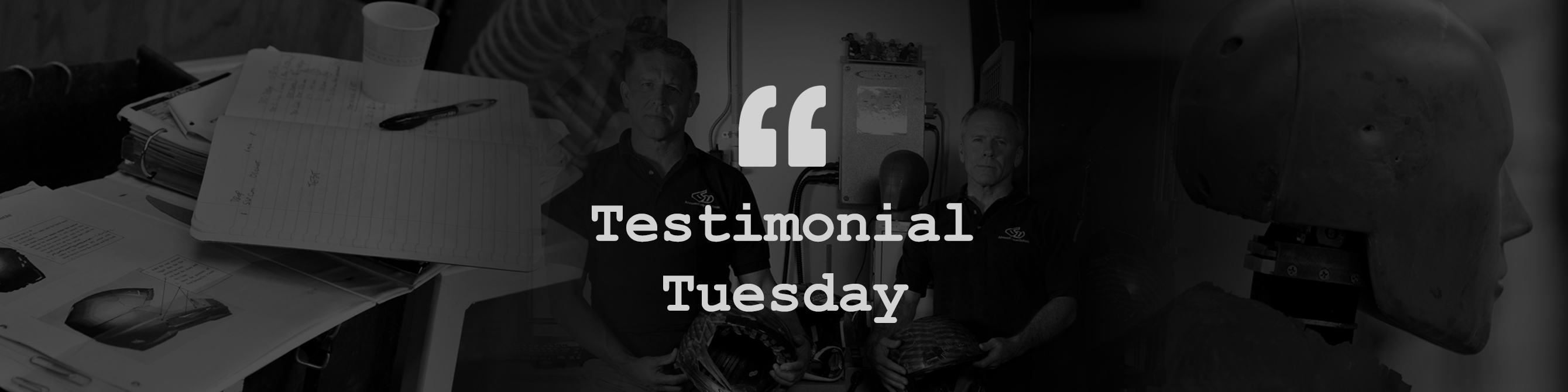 Testimonial Tuesday Header