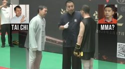 MMA (?) vs Tai Chi 30 seconds knock out: Ma Baoguo