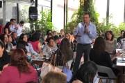 Mauricio Kuri expone a empresarias de Querétaro los retos que afronta el  país
