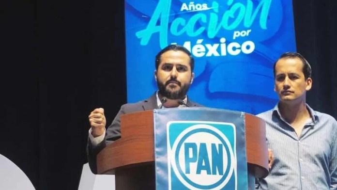 La historia del PAN está ligada a la construcción de la Democracia en México: Agustín Dorantes