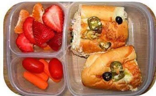 Cómo preparar un refrigerio escolar saludable