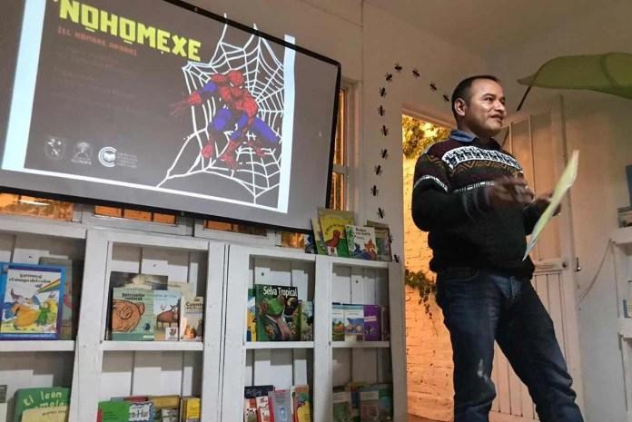 Presentan 'Cómics en lenguas mexicanas' en Fundación Zorro Rojo