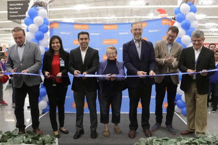 Inauguran Walmart Corregidora, representa 200 nuevos empleos directos.