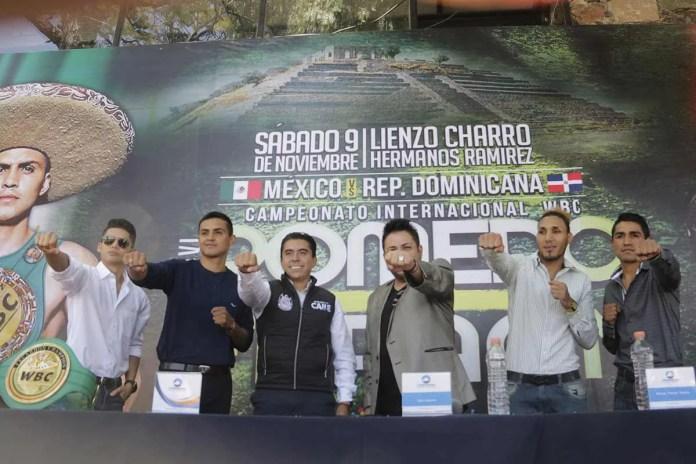 """Campeonato Internacional de la WBC en Corregidora; Juan Pablo """"Pivi"""" vs Ranses """"Faraón"""" Payano este sábado"""