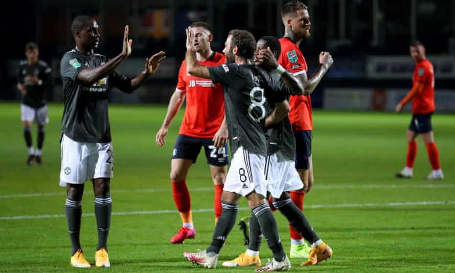 Luton vs Manchester united