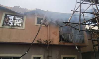 Fire Razes Two Apartments Of Building