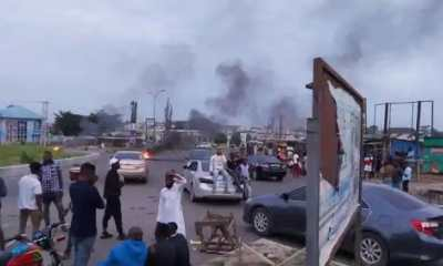 Watch Nigeria Police Shooting At Osogbo Protesters
