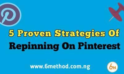 Strategies Of Repinning On Pinterest