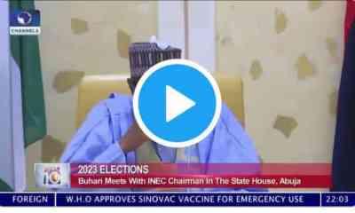 Watch Live Video Of Buhari Threatening Biafrans With Civil War