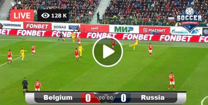 Watch Belgium vs RUSSIA Live Match