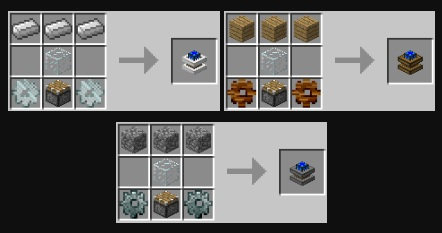BuildCraft Engine Recipes