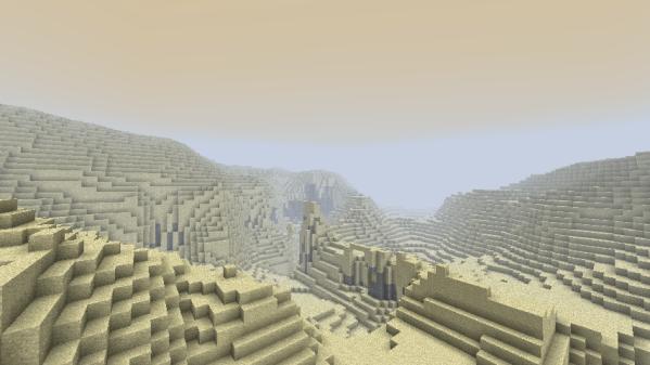 Minecraft dunes
