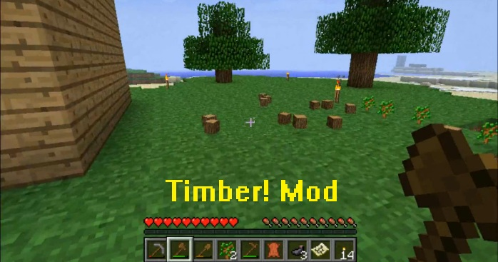 Timber Mod for Minecraft 1.16.3