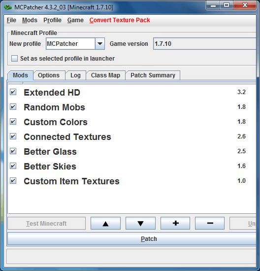 MCPatcher HD 1.9.4