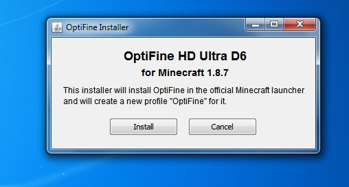 OptiFine HD Logo