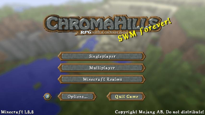 Chroma Hills Resource Pack 1.12.2/1.11.2